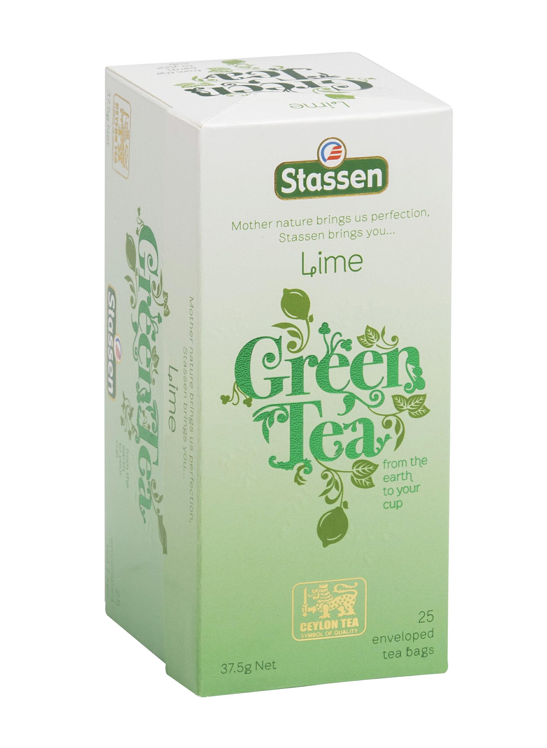  Stassen 司迪生★萊姆綠茶★【25入*1盒】❤買一送一
