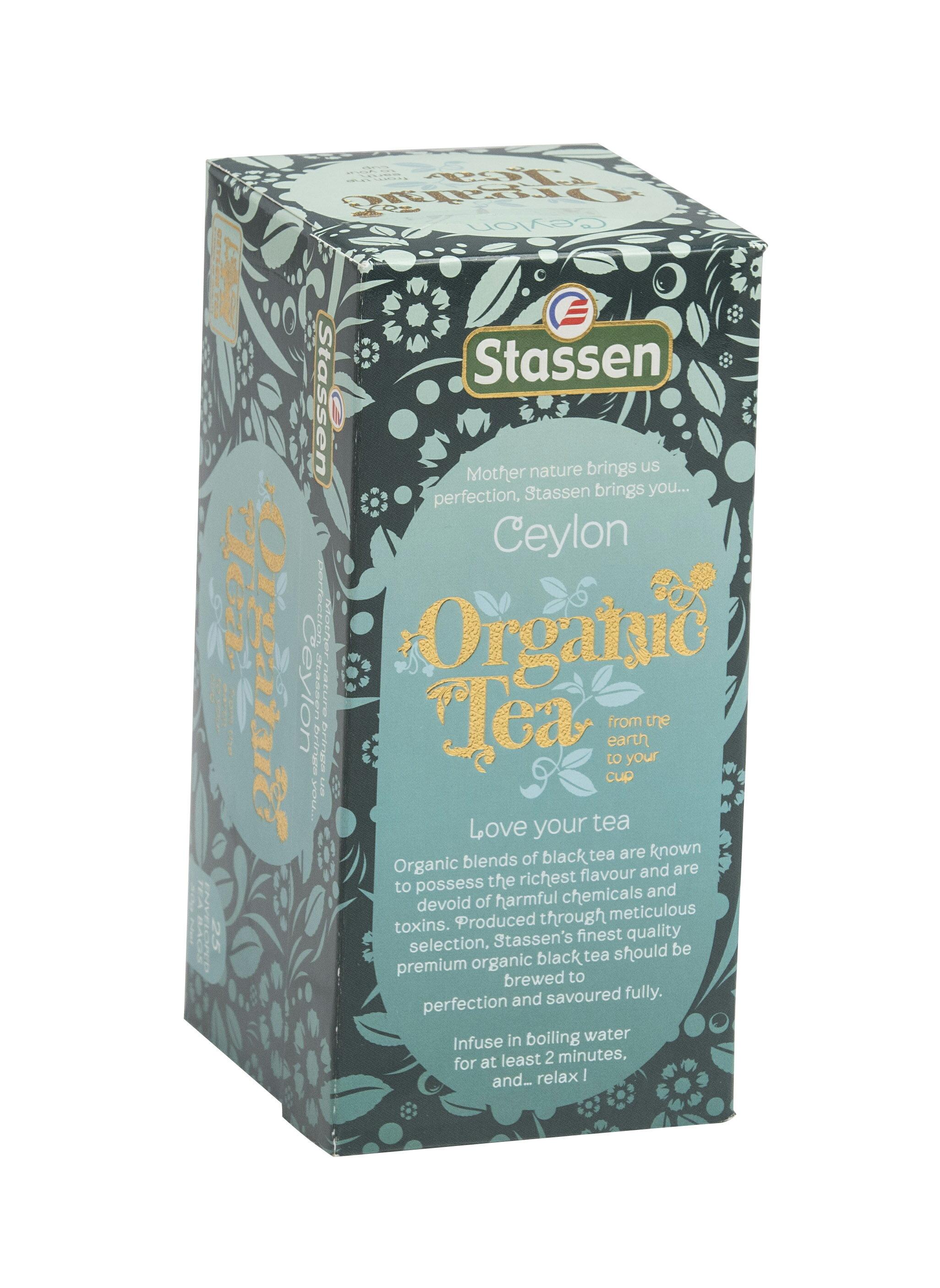 Stassen 司迪生 有機紅茶【25入*1盒】★即期品★