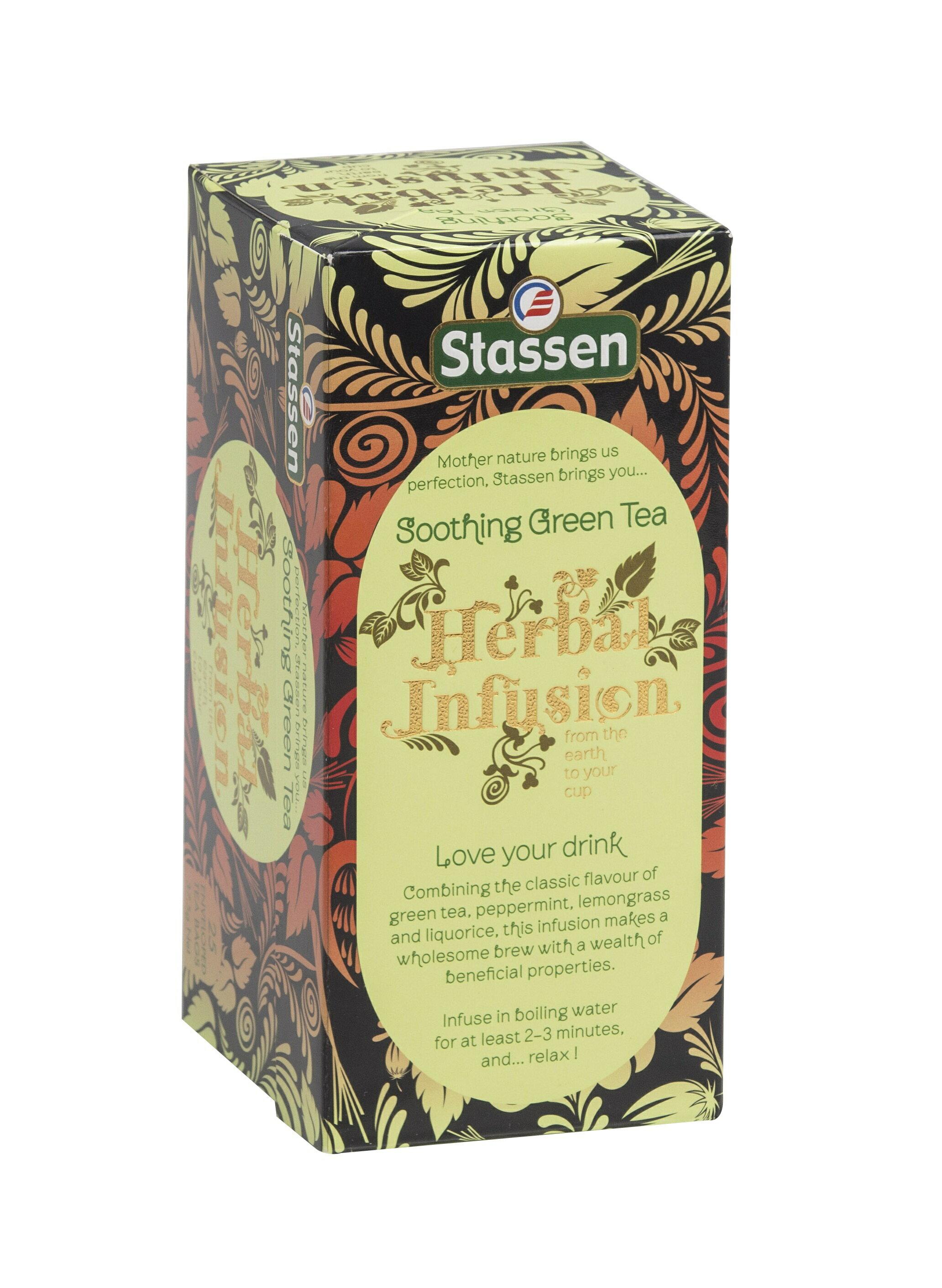 Stassen 司迪生★薄荷綠茶★【25入*1盒】★買一送一★ 0