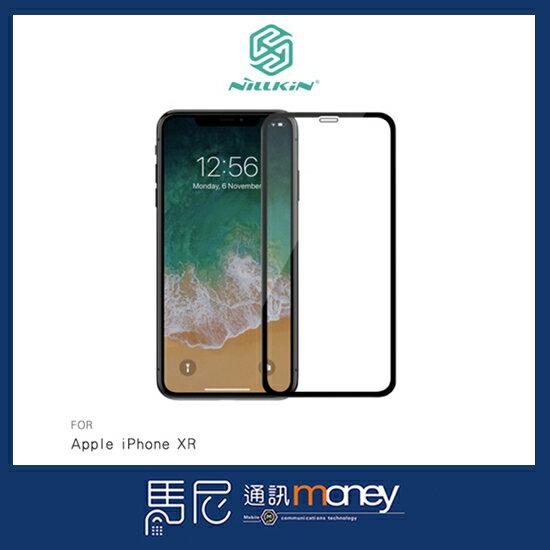 NILLKIN3DCP+MAX滿版玻璃貼AppleiPhoneXR保護貼9H玻璃貼【馬尼行動通訊】