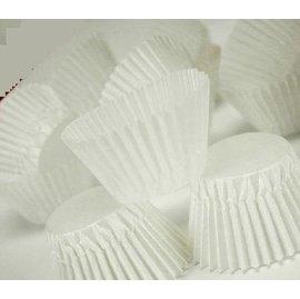 【蛋糕紙杯-白色半透明-8cm-2包/組】馬芬紙杯 油紙托 (展開8底徑3.5高2.3cm) 約300個包,2包/組(可選花色)-8001001
