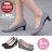 格子舖*【AW706】MIT台灣製 OL上班族必備 時尚經典格紋布面 5CM細中跟鞋 圓頭包鞋 2色 1