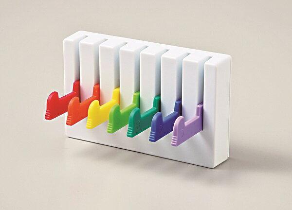 【This-This】日本 Wall Hanger Rainbow 彩虹鑰匙/小物收納掛架