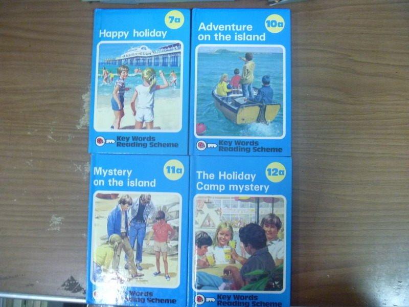 【書寶二手書T6/語言學習_ICD】Happy hoildoy_Mystery on the island等_共4本合售