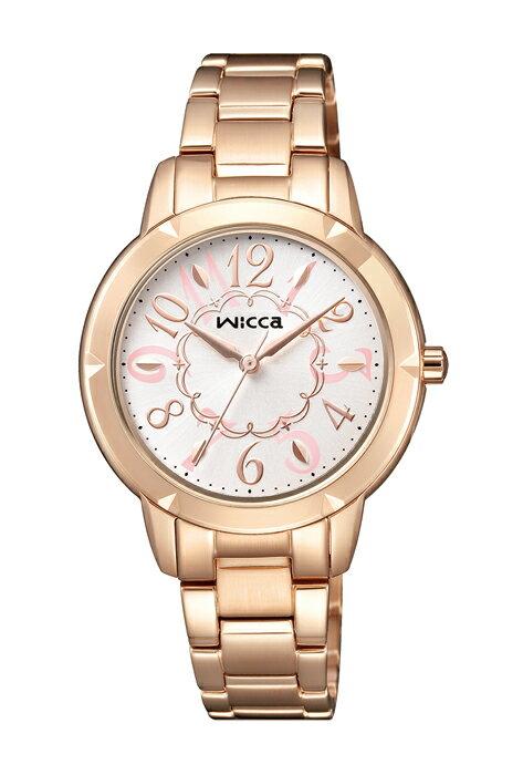 CITIZEN 星辰 WICCA 愛莉絲夢遊仙境 時尚腕錶 BT2-769-11 32mm - 限時優惠好康折扣