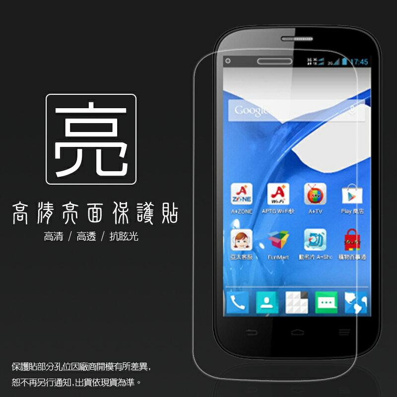 亮面螢幕保護貼 亞太 A+ World CG503/ZTE Q301C/Q301T 保護貼