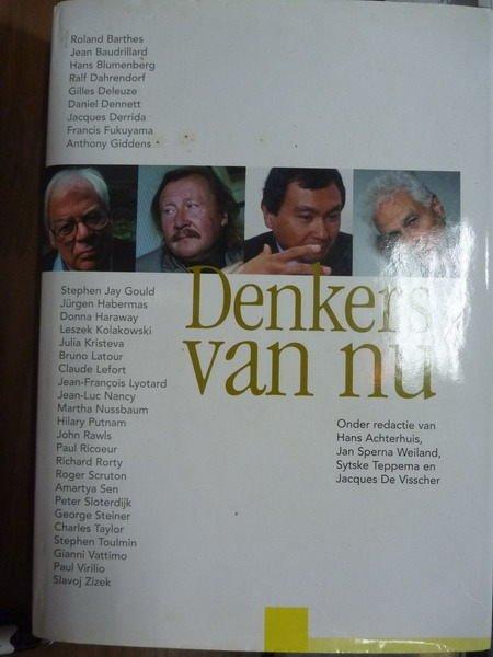 ~書寶 書T4/原文書_QLD~Denkers van nu_H.Achterhuis