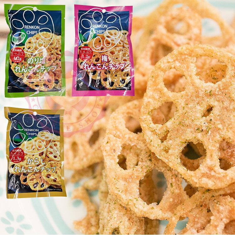 日本 Sokan 蓮藕片-海苔口味 16g/包 三款可選【庫奇小舖】