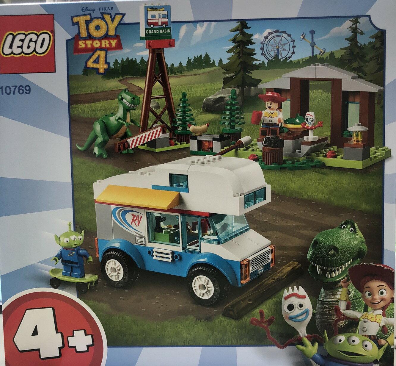 (戰神本舖 正版現貨)終於有樂高了!LEGO 樂高 玩具總動員4 Toy Story 4 露營車假期 玩具