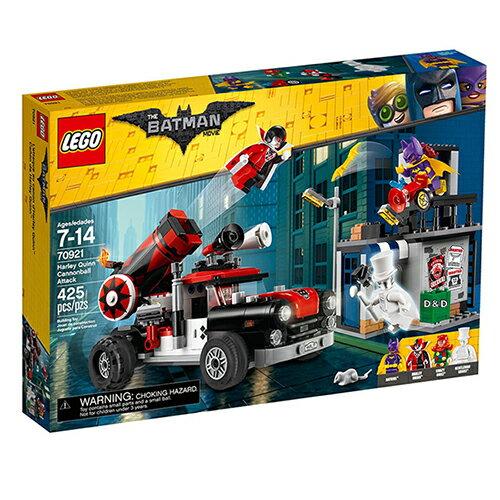 東喬精品百貨商城:樂高積木LEGO《LT70921》2018年樂高蝙蝠俠電影系列-HarleyQuinn™CannonballAttack
