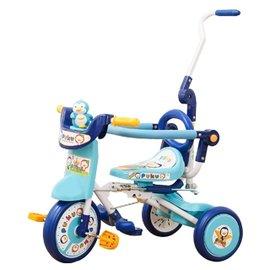 『121婦嬰用品館』PUKU豪華型輔助三輪車 - 藍 1023 0