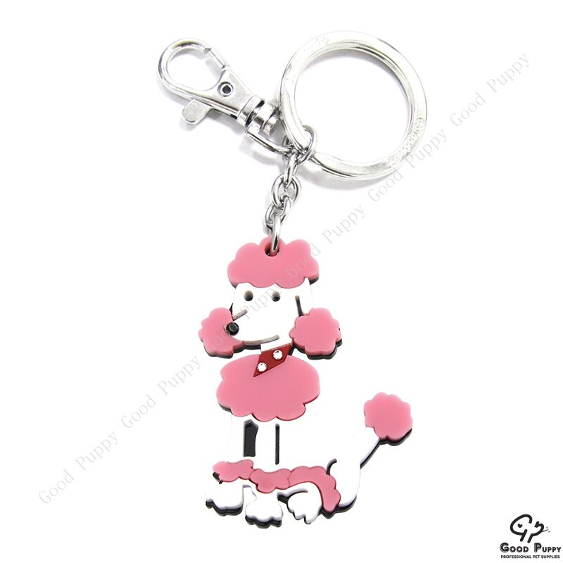 加拿大進口狗狗寵物鑰匙圈-貴賓犬92661 Poodle* 吊飾/鑰匙扣/鑰匙圈/小禮物/贈品