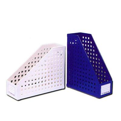 W.I.P 聯合文具 AMF-5200 兩用開放式方孔雜誌箱 ( 可加擋板 A4 / B4 通用書架 )