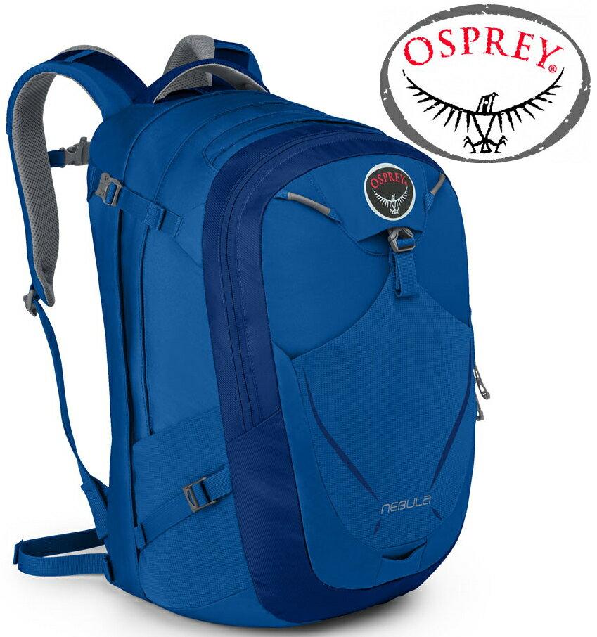 Osprey Nebula 34 日用系列後背包/電腦包 大容量 24/Seven 寶石藍
