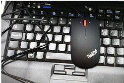 【保固一年】 原廠 IBM 聯想 有線滑鼠/1600dpi/精準藍光設計/四向按鍵可編程/左右手通用/滑鼠