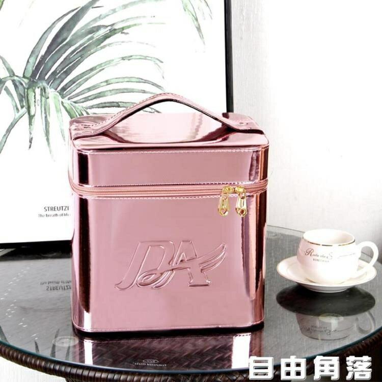 收納包 韓國手提化妝包 新款大容量便攜包 網紅ins風 超火收納盒化妝箱