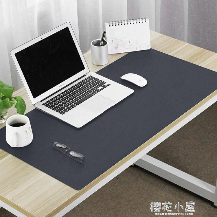 辦公桌墊  大號滑鼠墊防水寫字墊超大皮革滑鼠墊辦公電腦墊可定制