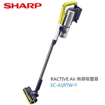 【SHARP夏普】RACTIVEAir羽量級無線快充吸塵器(簡配)EC-A1RTW-Y