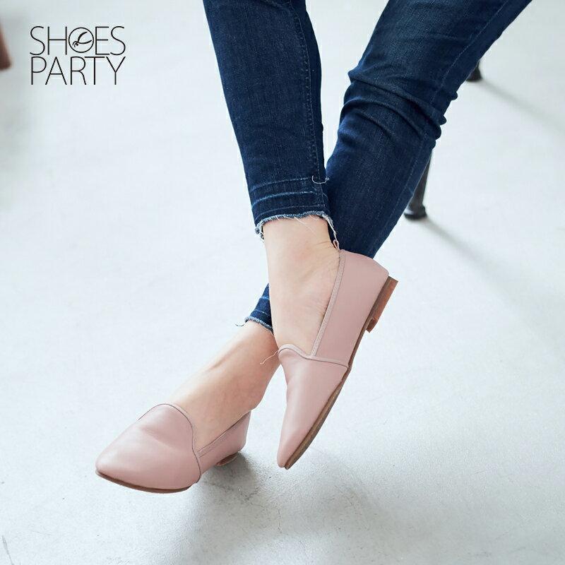 【 C2-17504L 】軟牛皮休閒歐貝拉_Shoes Party 2