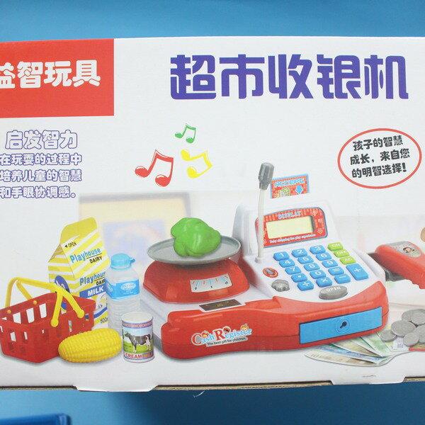 坤興超市音效收銀機 NO.031A 大型電動收銀機玩具(附電池) / 一盒入 { 促650 } ~大生(T2654) 4