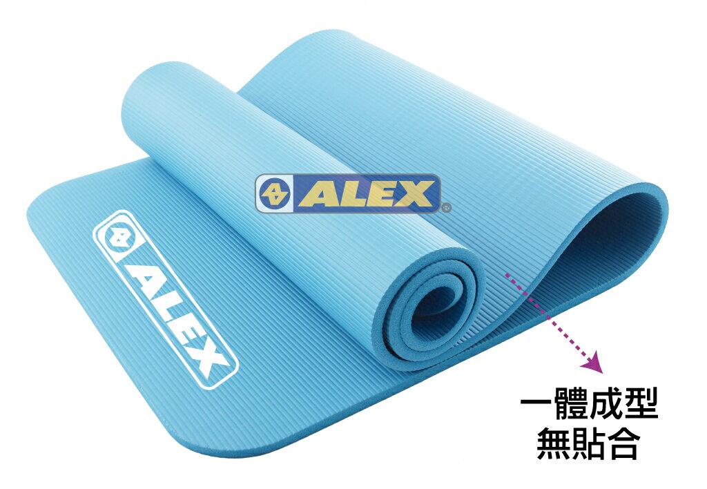 騎跑泳者-ALEX C-5301、C-5302 運動地墊(只)(附提袋) 瑜珈墊,厚度:1.0cm (附ALEX黑色背袋)