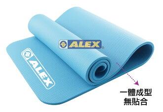 騎跑泳者-ALEX C-5301 運動地墊(只)(附提袋) 瑜珈墊,厚度:1.0cm (附ALEX黑色背袋)