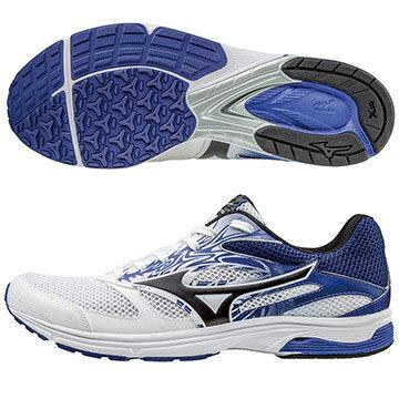 J1GA178610 (紅X銀)追求速度的跑者 WAVE EMPEROR TR2  皇速!輕量路跑鞋 S【美津濃MIZUNO】