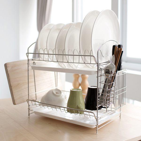 碗盤架 / 瀝水架 不鏽鋼組合式多功能碗盤架 MIT台灣製 完美主義【D0045】 0