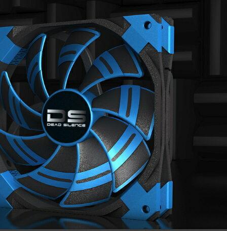 【迪特軍3C】DS風扇 12CM LED 藍色/紅色 散熱風扇 電腦風扇