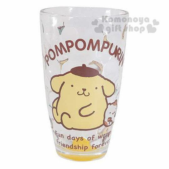 〔小禮堂〕布丁狗 玻璃杯《透明.坐姿.倉鼠.盒裝.240ml》圓點凹凸透心涼