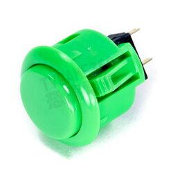SANWA 日本三和 按鍵 按鈕 OBSF-24-G 綠色 Joystick Parts Button【台中恐龍電玩】