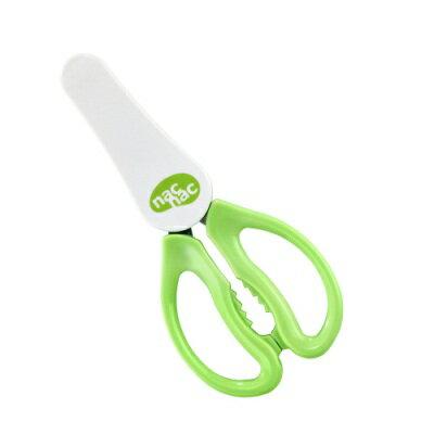 【奇買親子購物網】寶貝可愛 Nac Nac 可拆式隨身食物剪刀