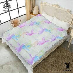 【名流寢飾家居館】PLAYBOY發熱羊毛暖暖被.100%台灣製造.款示隨機不挑色