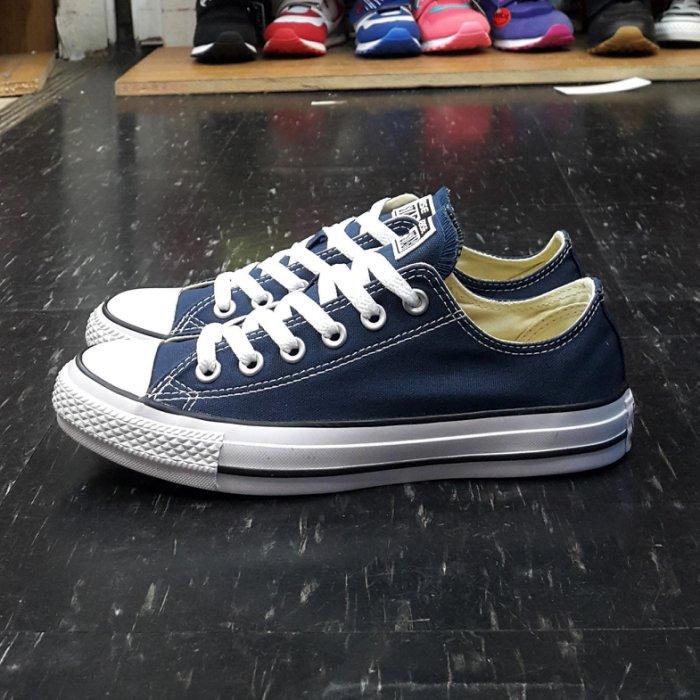 Converse Chuck Taylor All Star 基本款 低筒 帆布 海軍藍 深藍色 藍色 M9697C