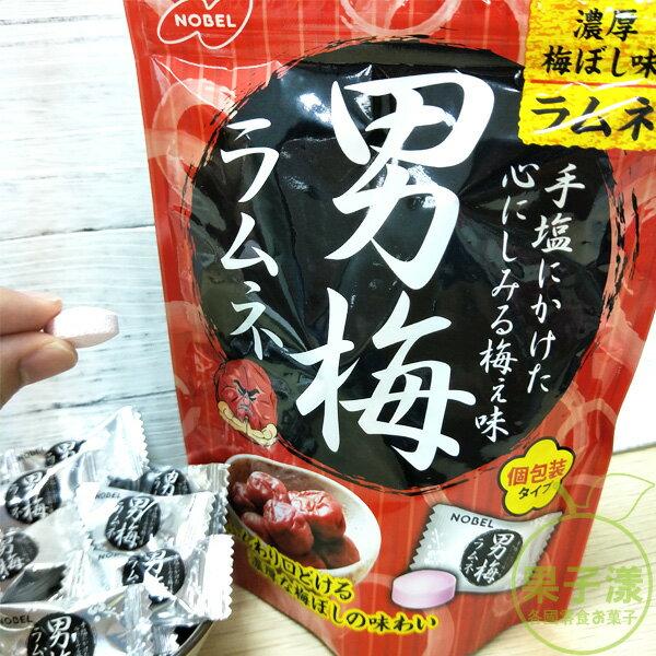 日本NOBEL 諾貝爾男梅汽水糖 [JP567] 糖果