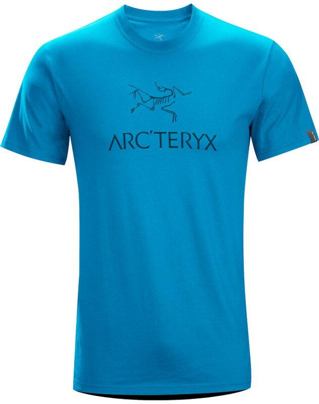 Arcteryx 始祖鳥/品牌T恤/穿搭/短袖棉T 17044 Arc'word-T-Shirt 男款 海藍