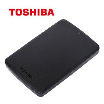 【Toshiba】Canvio BASICS 2TB 黑靚潮II 行動硬碟 USB3.0 (HDTB320AK3CA) 黑