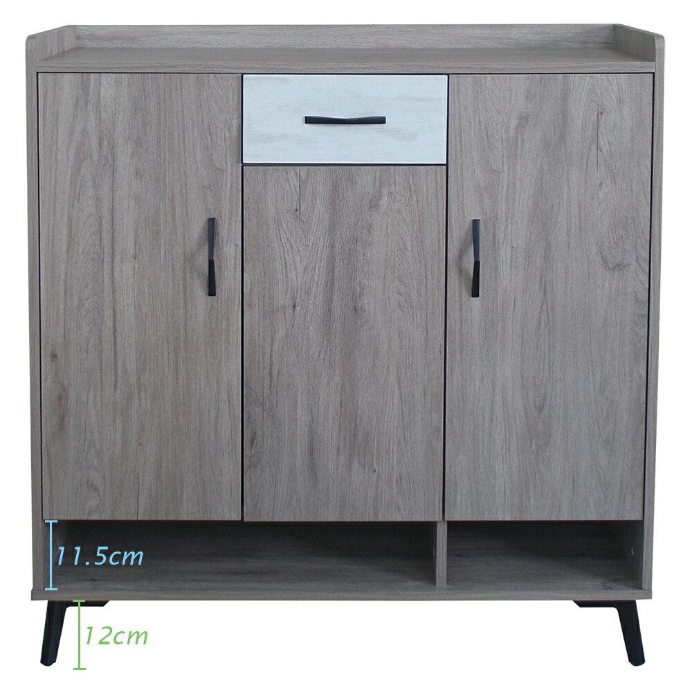 【尚品家具】881-41 雀扇3.3尺鞋櫃