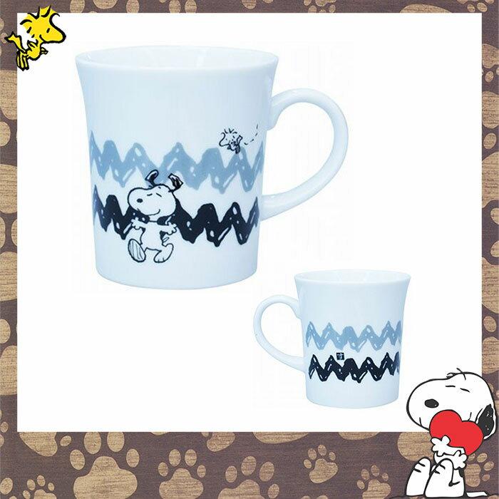 SNOOPY史奴比 辦公室 家用 陶瓷陶磁 馬克杯 水杯 約170 ml  日本進口正版 611420