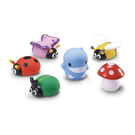 KUKU酷咕鴨水中玩具-花園昆蟲組【悅兒園婦幼生活館】