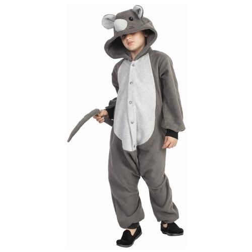 Funsies Mouse Fleece Jumpsuit Halloween Costume Child 0
