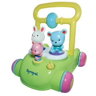 *限量特賣* Toyroyal樂雅 - 動物音樂助步車