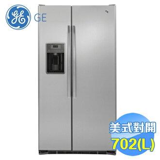 奇異 GE 702L薄型對開冰箱 GZS22DSSS 【送標準安裝】