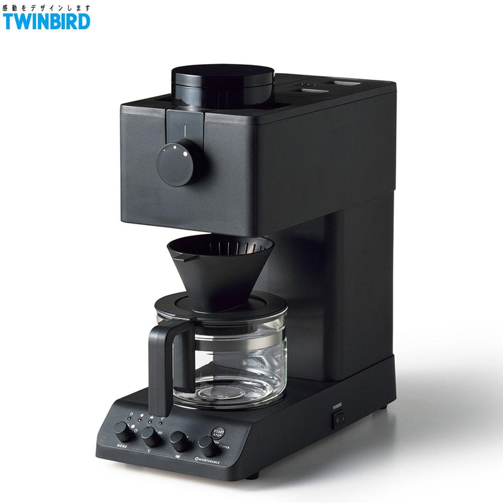 【送新格20L微波爐】TWINBIRD 雙鳥 CM-D457TW 職人級全自動手沖咖啡機 日本製