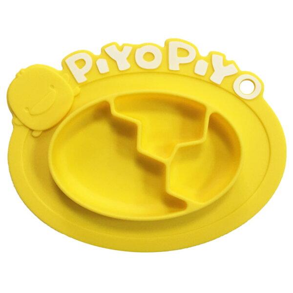 【奇買親子購物網】黃色小鴨PiYOPiYO防滑矽膠攜帶盤