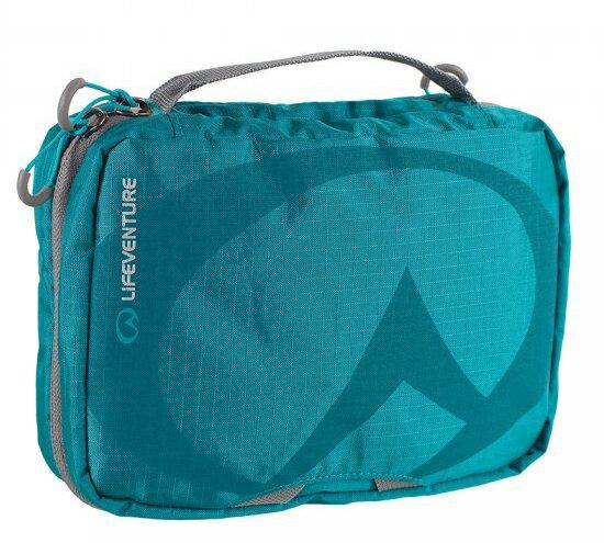 【LIFEVENTURE英國】TravelWashBag耐磨多功能盥洗包-L旅行盥洗包藍色64048