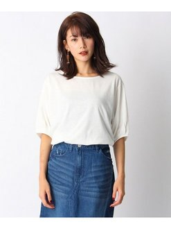 OZOC 圓領 泡泡袖 T恤 上衣 日本必買 日本直送 代購/日貨/雜誌