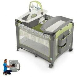 【淘氣寶寶】新款 美國 kids II 4合1可拆洗豪華遊戲床【KI60470】101 x 73x 71cm