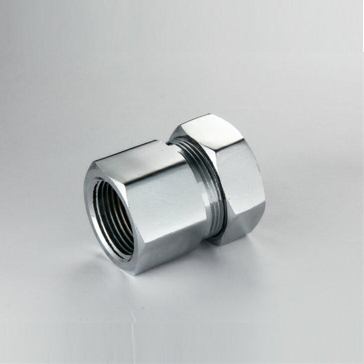 MSC不定尺六分內牙接頭★可撓式不鏽鋼瓦斯波紋軟管專用★ - 限時優惠好康折扣