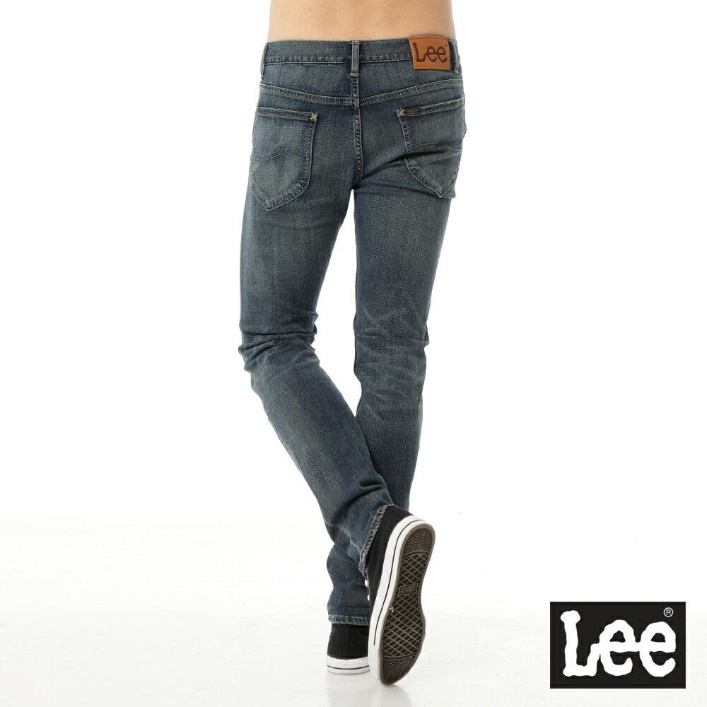 Lee 牛仔褲 709 低腰合身小直筒-男款(懷舊中藍) 3